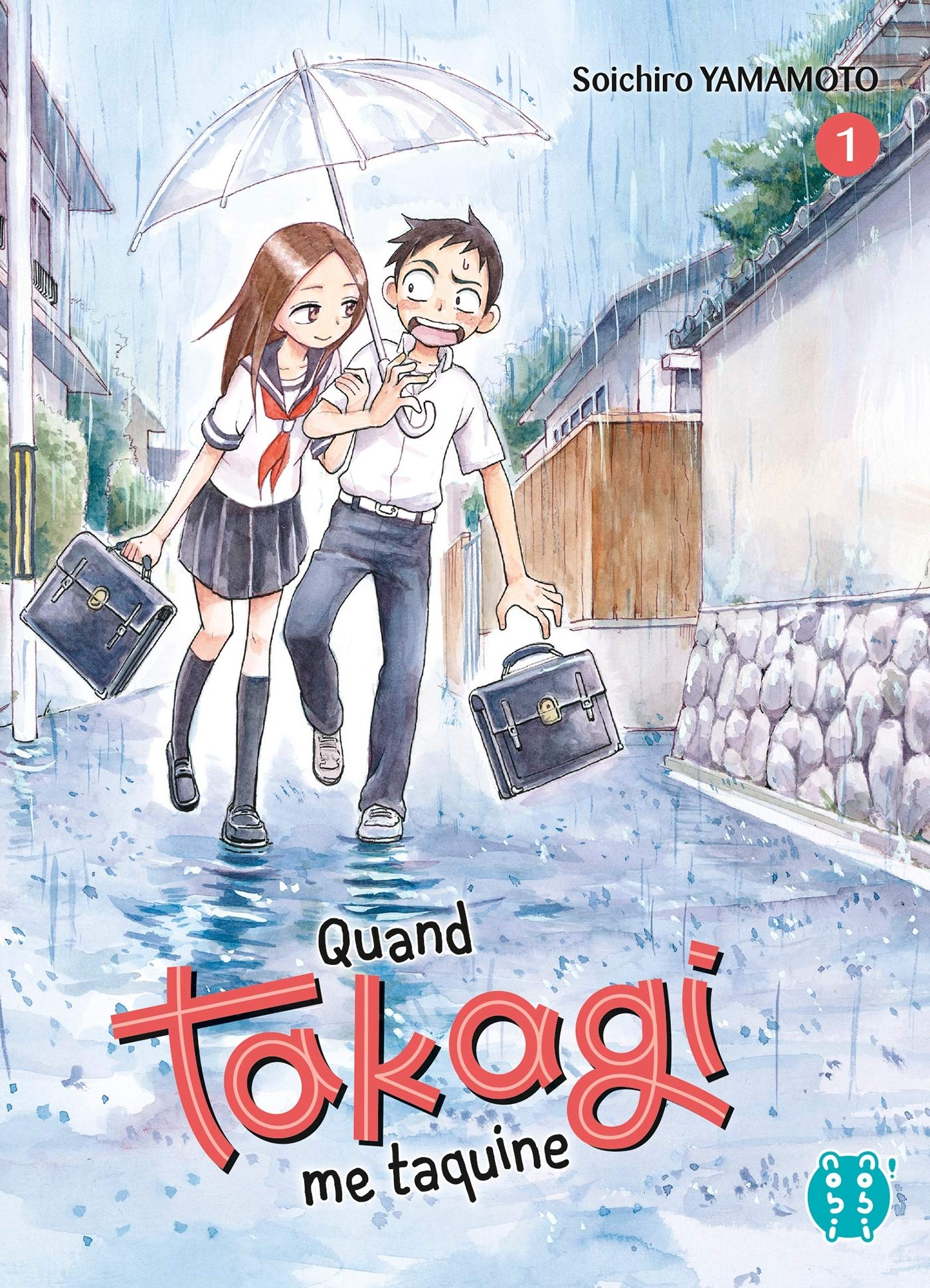 Couverture du tome 1 de Quand Takagi me Taquine
