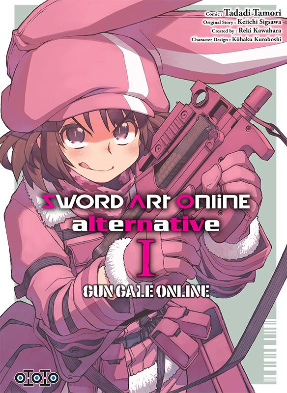 Couverture de Sword Art Online Alternative Gun Gale Online Tome 1