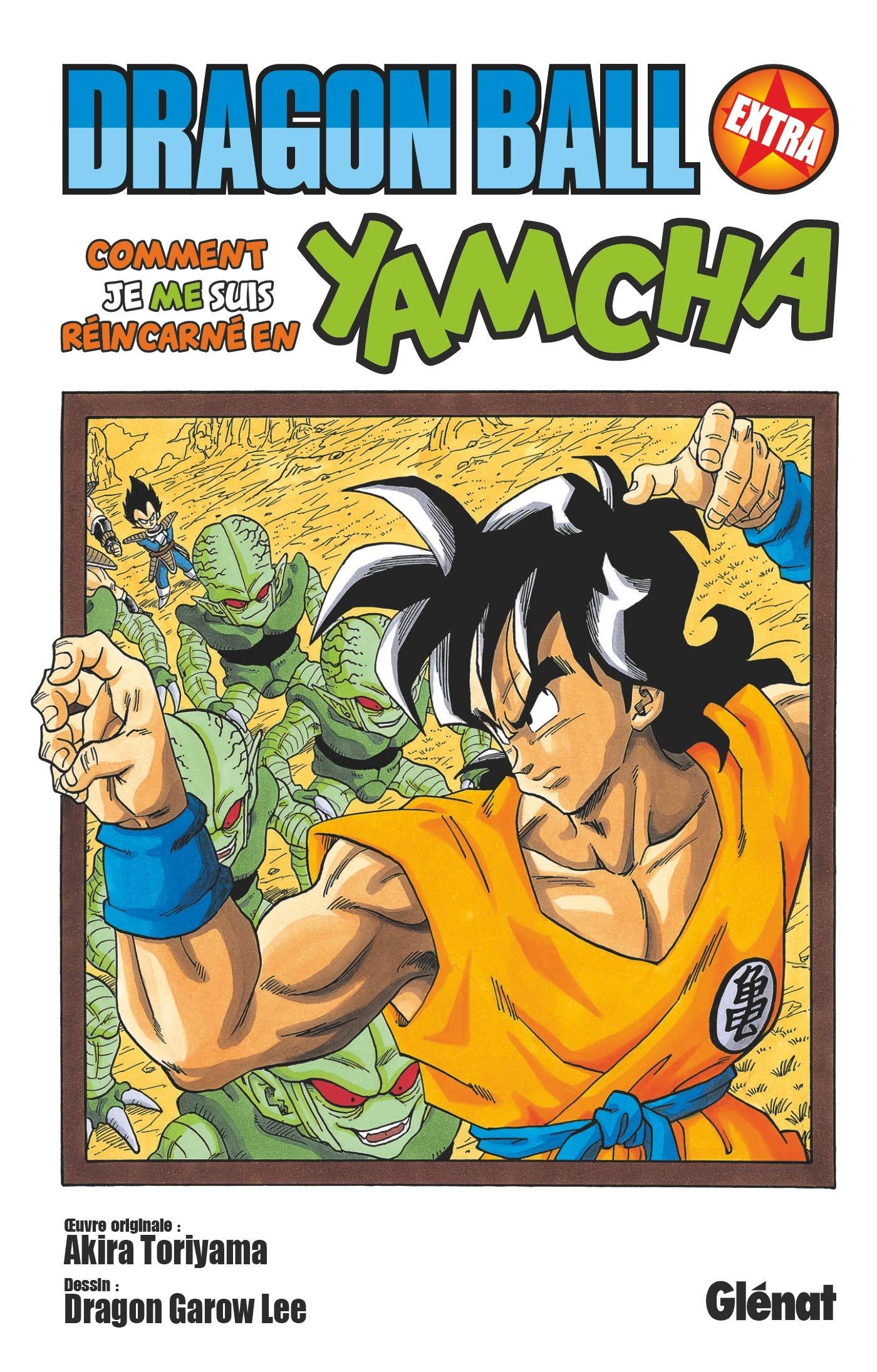 Jaquette de : Dragon Ball Extra, comment je me suis réincarné en Yamcha