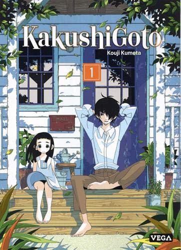 Jaquette du tome 1 de KakushiGoto