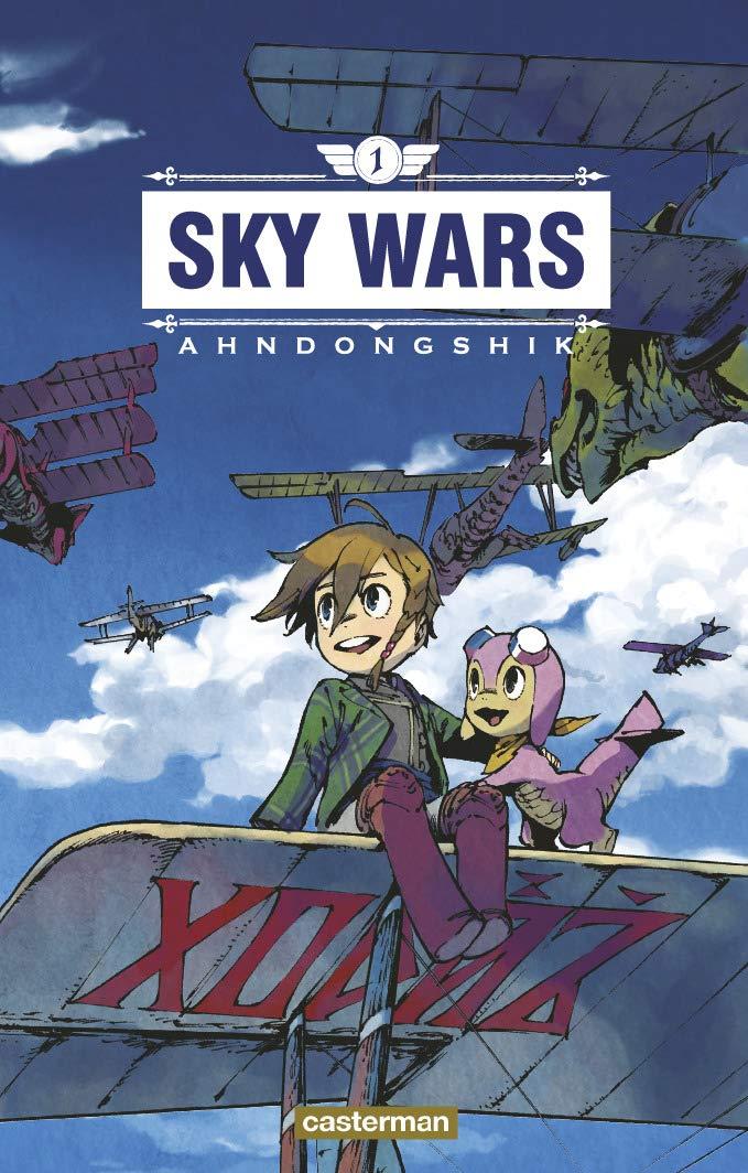 Couverture du tome 1 de Sky Wars