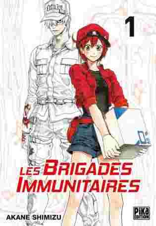 Les brigades immunitaires tome 1 de Akane SHIMIZU - Le shonen intérieur