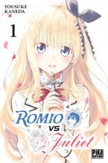 Jaquette du tome 1 de Romio VS Juliet
