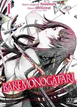 Couverture du tome 1 du manga Bakemonogatari