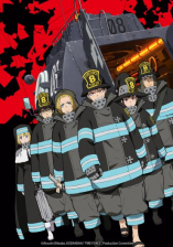 Affiche de l'anime Fire Force