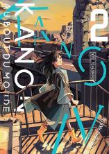 Couverture du tome 2 de Kanon jusqu'au bout du monde