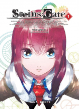 Couverture du tome 1 de steins;gate