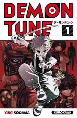 Couverture du tome 1 de Demon Tune