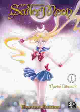 Couverture du tome 1 de Sailor Moon édition Eternal