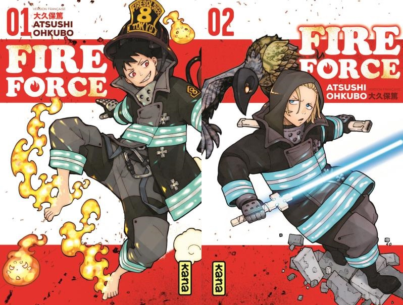 Fire Force tome 1 et 2