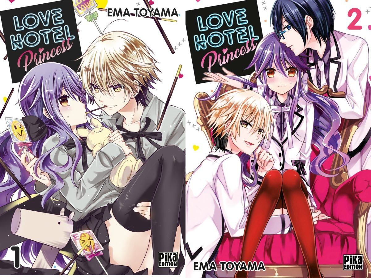 Love Hotel Princess Tomes 1 et 2