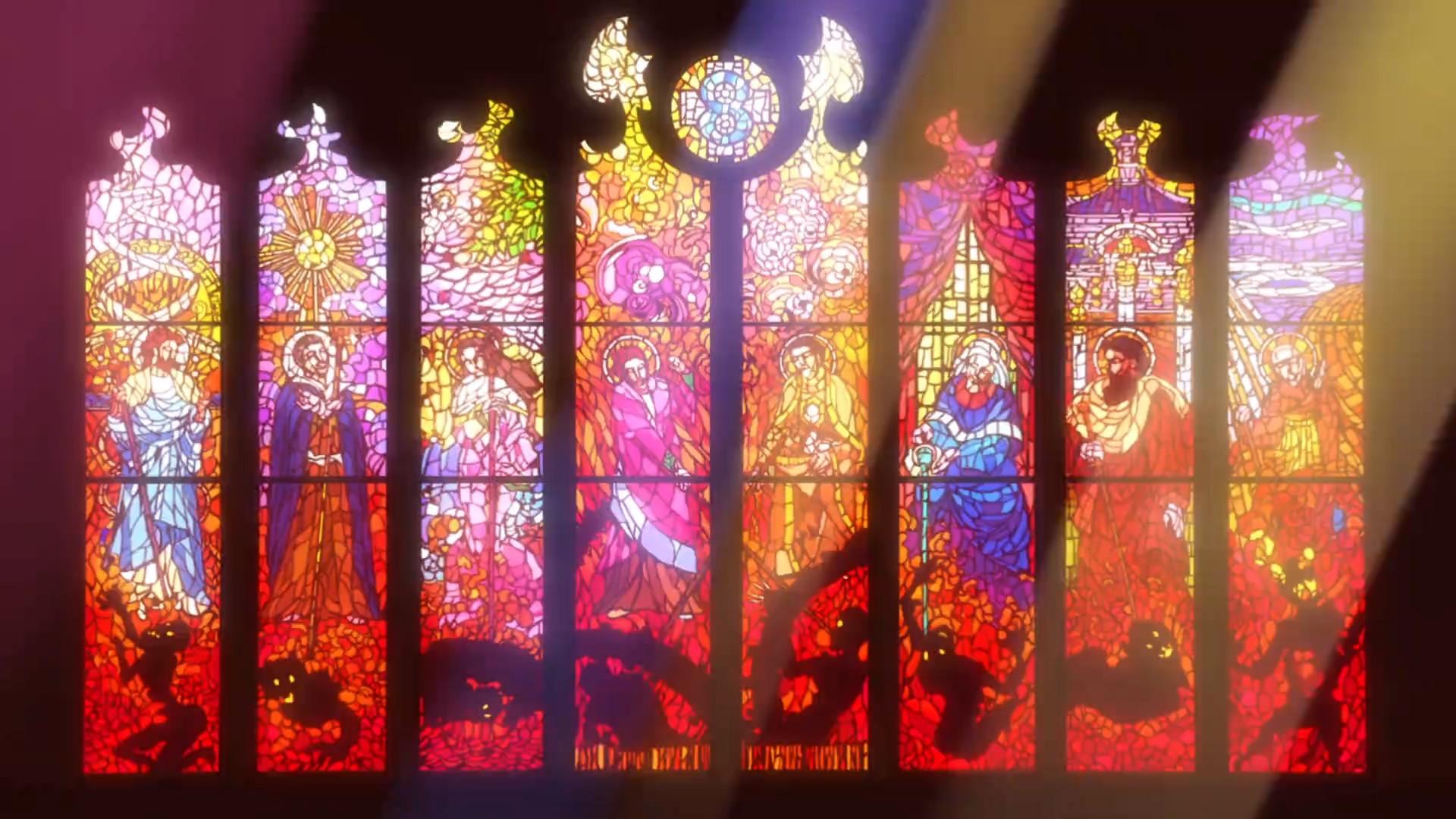 Les vitraux de l'église de Latum