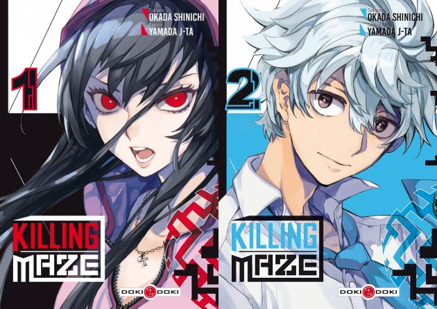 Killing Maze Tomes 1 et 2