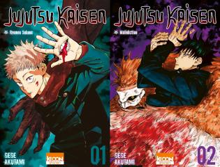 Tomes 1 et 2 de Jujutsu Kaisen